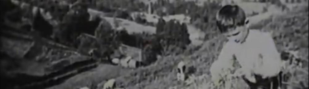 France. 1937.Coopératives scolaires dans les Vosges